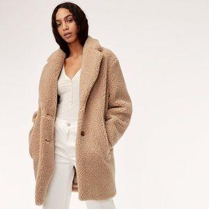 Aritzia teddy bear/Sherpa jacket - BNWT
